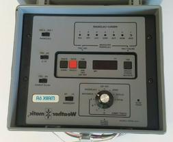 Weather Matic Mark 6A 6-Zone Lawn Sprinkler Control NEW Irri