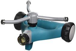 Fiskars WS46 Garden Watering 3 Arms Whirling Sprinkler Metal