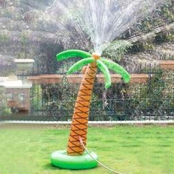 Yard Games for Kids Inflatable Palm Tree Sprinkler Water !!
