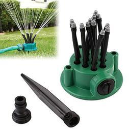 QHGC Yard Sprinkler,Lawn Sprinkler Garden Hose Sprinklers,Ad