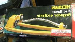 Nelson Yellow Oscillating Lawn Garden Sprinkler 1025 2800 Sq