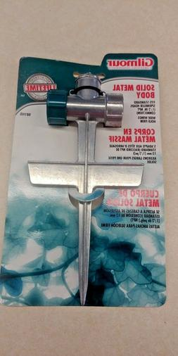 zinc spike base lawn sprinkler