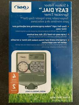 Orbit Underground 57874 4-Zone Indoor Timer Water Irrigation