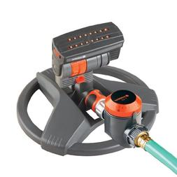 GARDENA ZoomMaxx Sprinkler on Sled Base with Water Timer